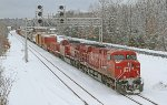 Canadian Pacific Railway, Train CP 252 